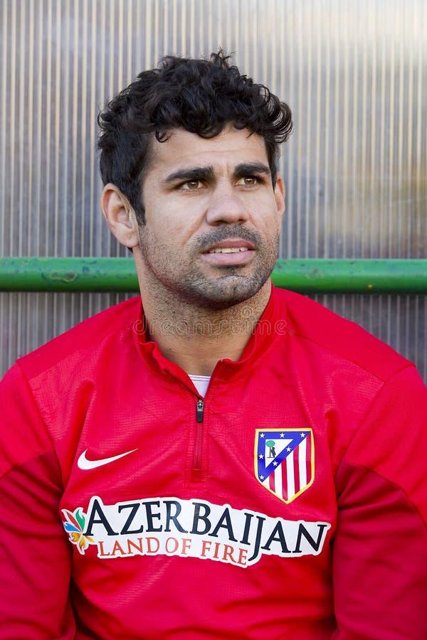 Diego Costa van Atletico DE Madrid stock foto