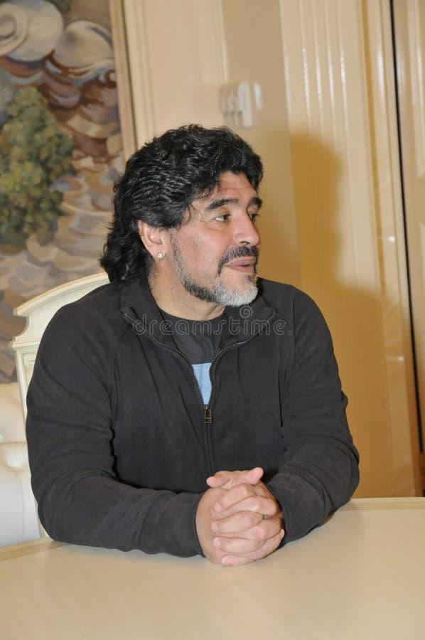 Diego Maradona stock photography