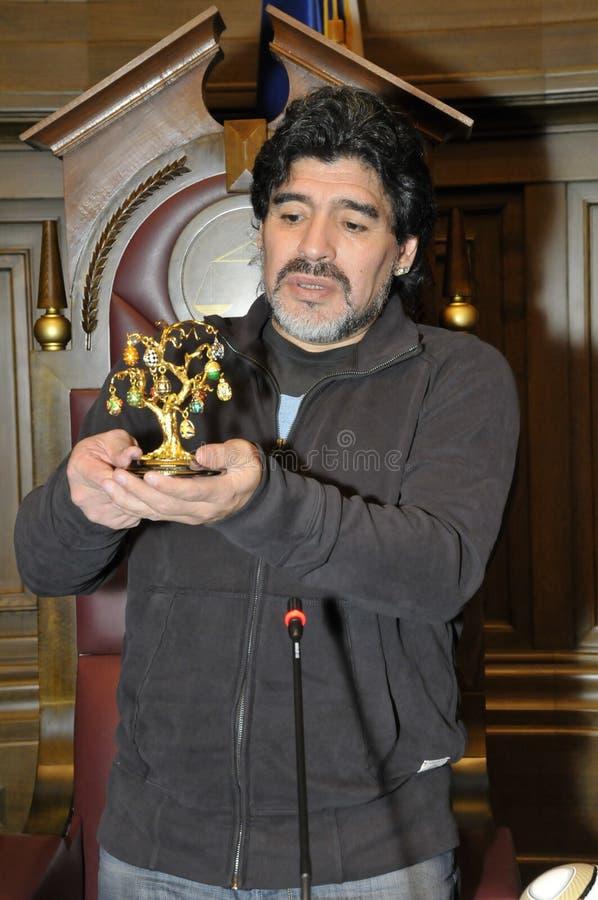 Diego Maradona royalty free stock photo