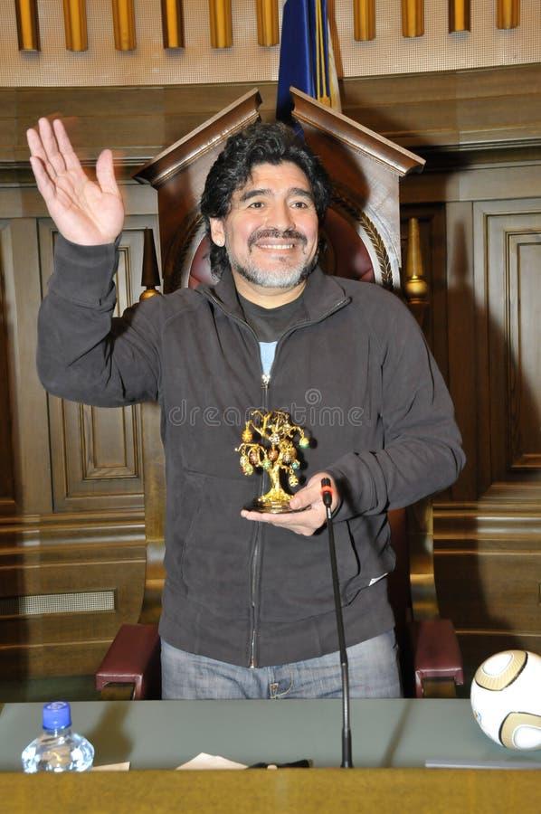 Diego Maradona stock photos