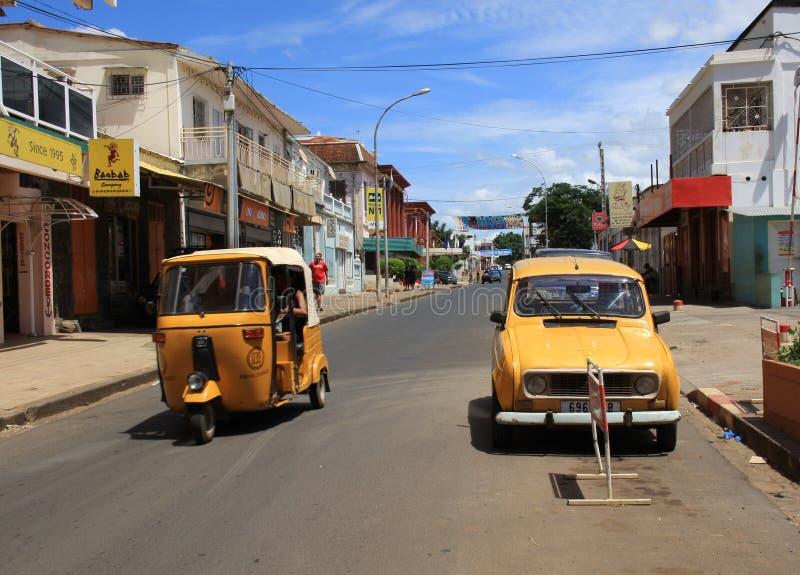 Diego Suarez Madagascar fotografering för bildbyråer