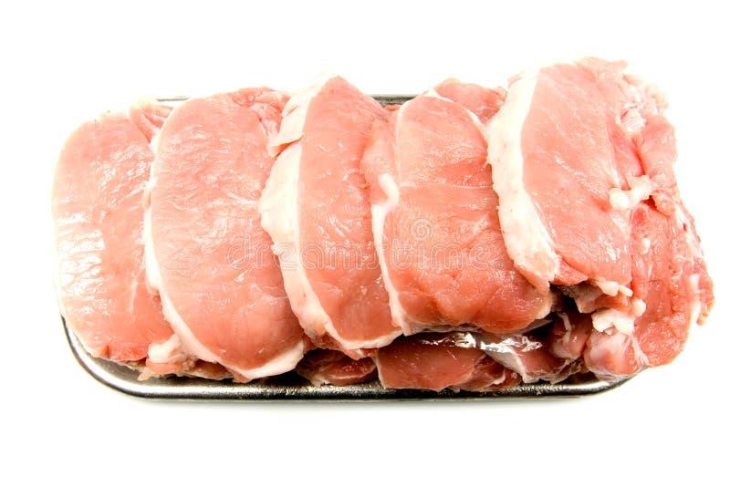 Dienblad van Vlees stock foto's