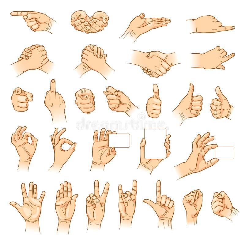 Dient uiteenlopende interpretaties in vector illustratie