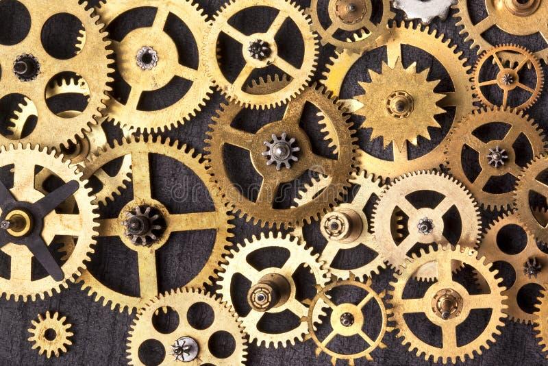 Dientes del mecanismo imágenes de archivo libres de regalías