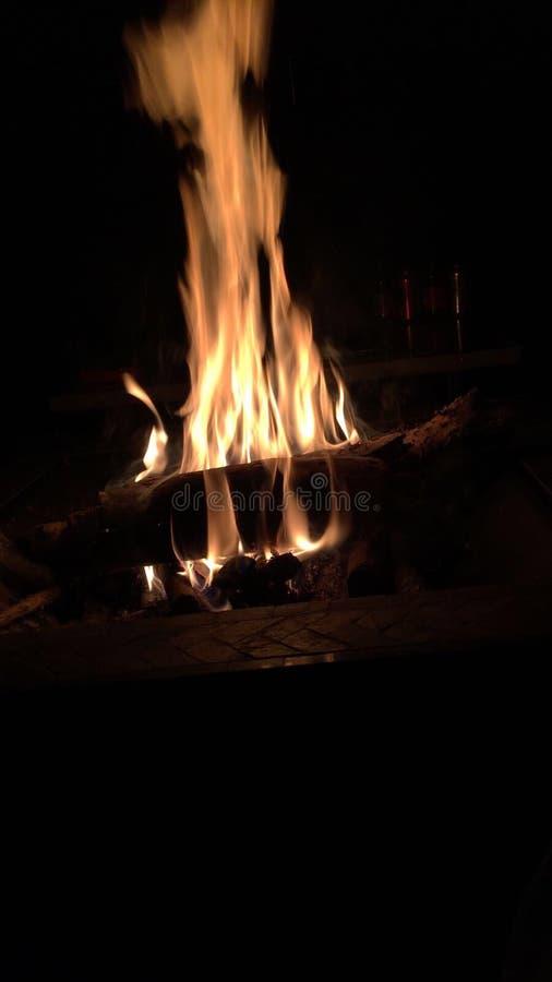 Diep in de Brand stock fotografie