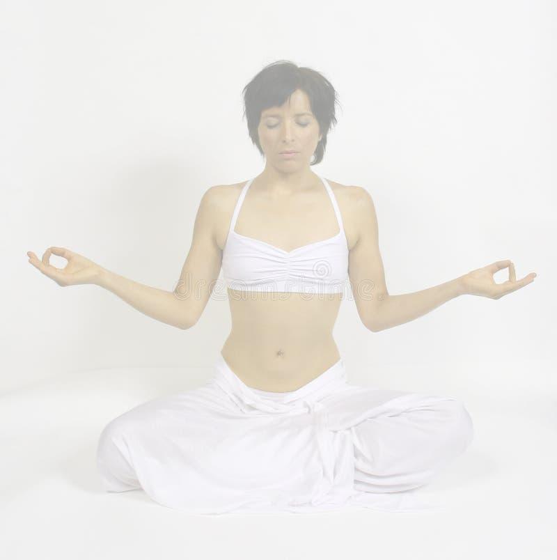Diepe Meditatie royalty-vrije stock afbeelding