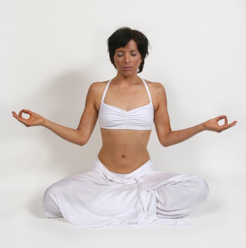 Diepe Meditatie stock fotografie