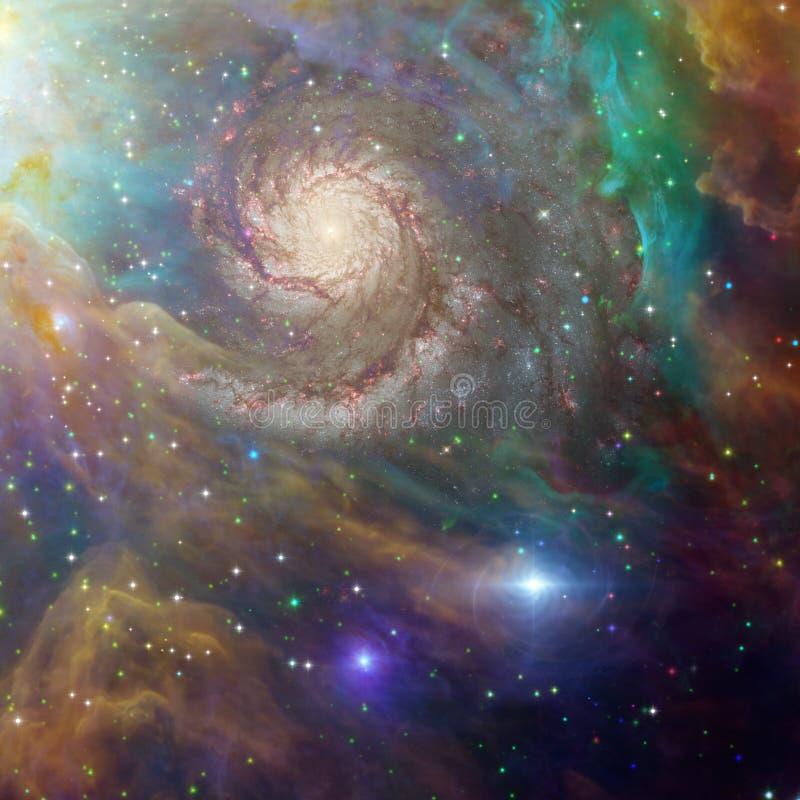 Diepe ruimte vector illustratie