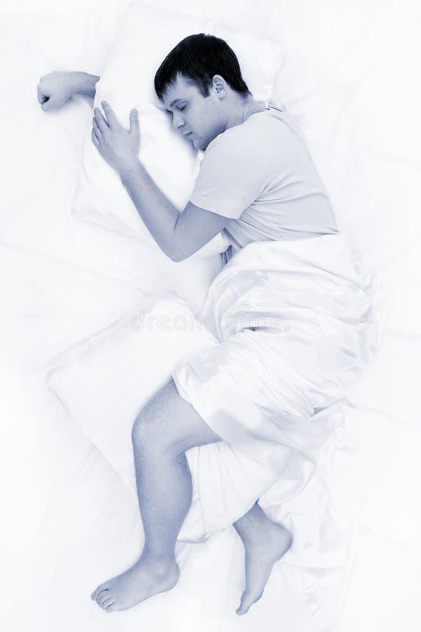 Diepe slaap stock afbeelding