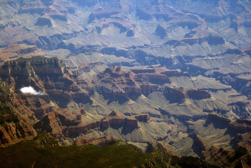 Diepe vallei stock afbeelding