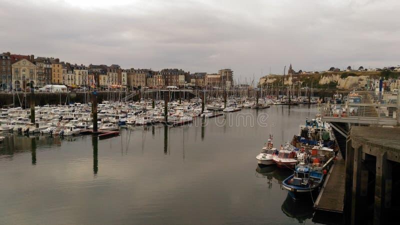 Dieppe royaltyfria bilder