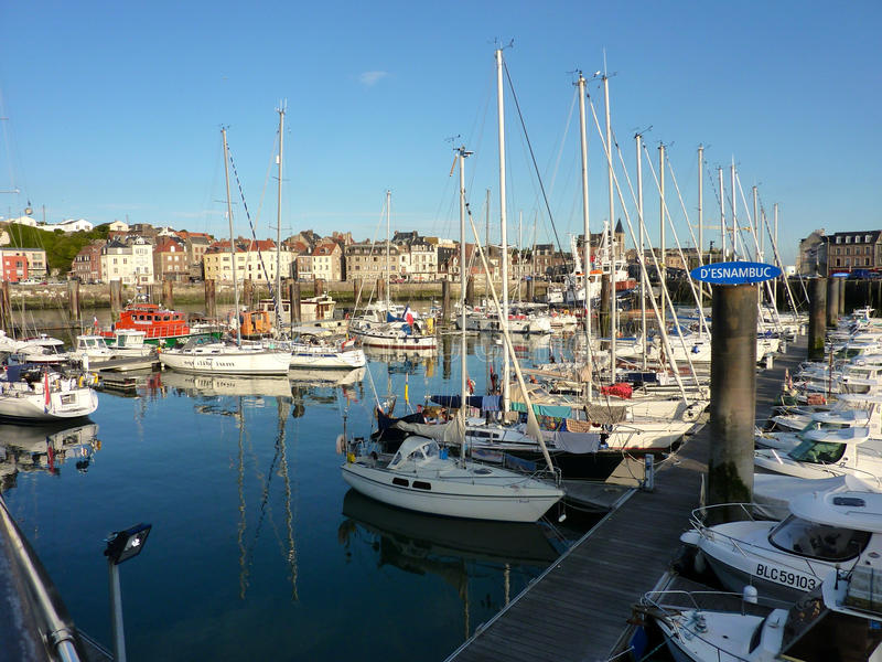 Dieppe - França fotografia de stock