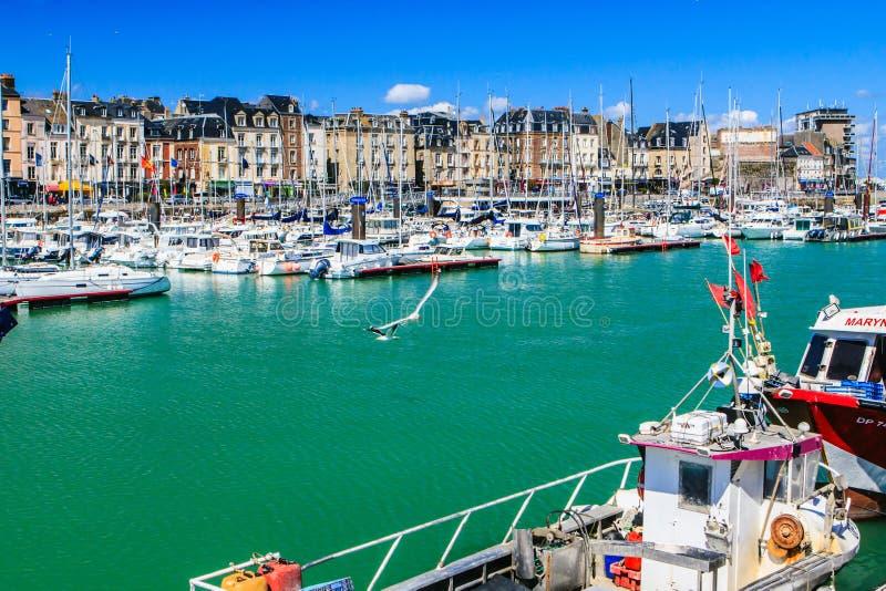 Dieppe, Seine-maritime, França fotografia de stock