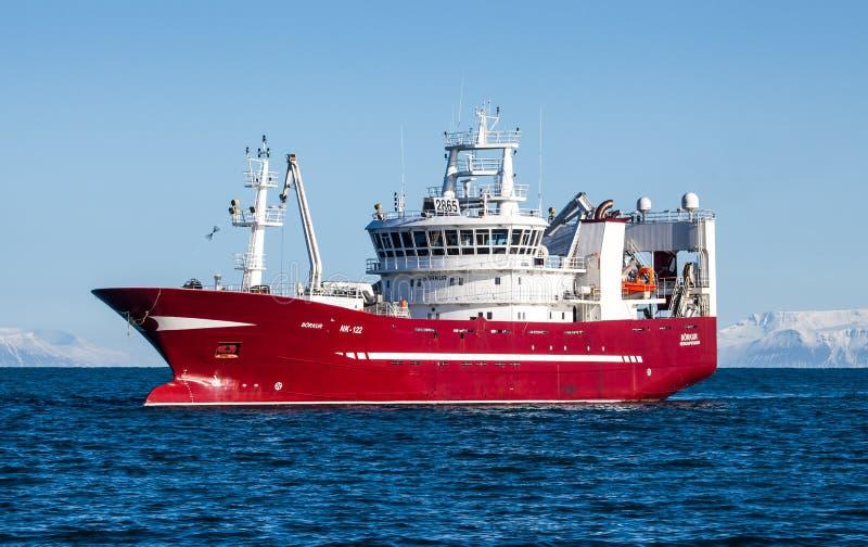 Diepzee Vissersvaartuig royalty-vrije stock fotografie