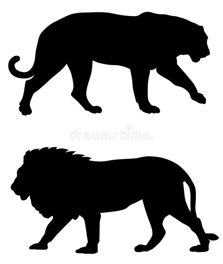 Dieren stock illustratie