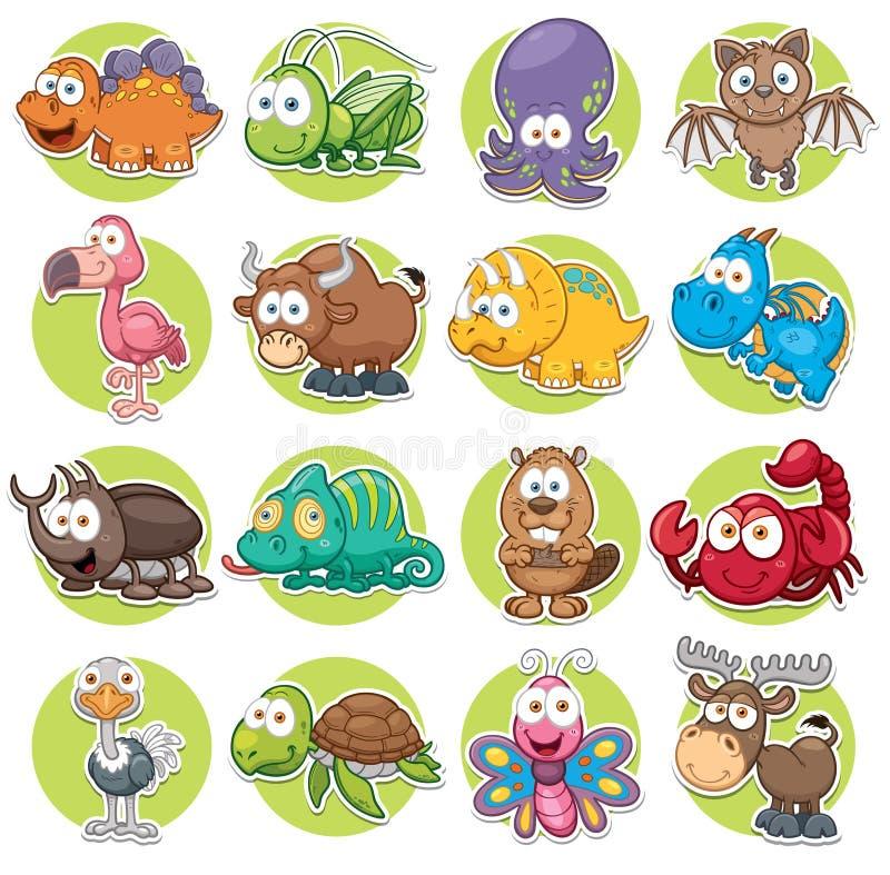 dieren vector illustratie