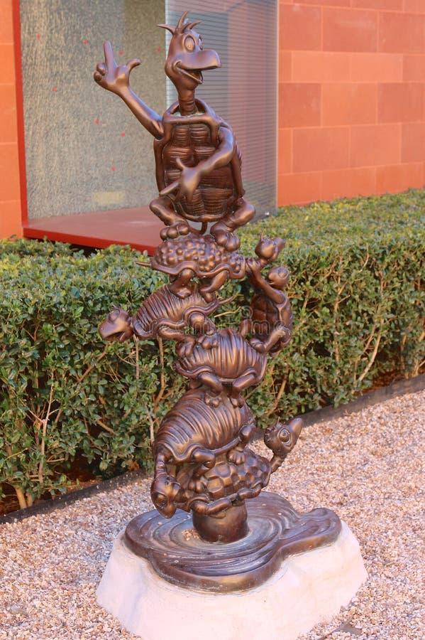 Dieren van Forest Characters van Horton Hears Who! De Film van kinderen royalty-vrije stock foto's