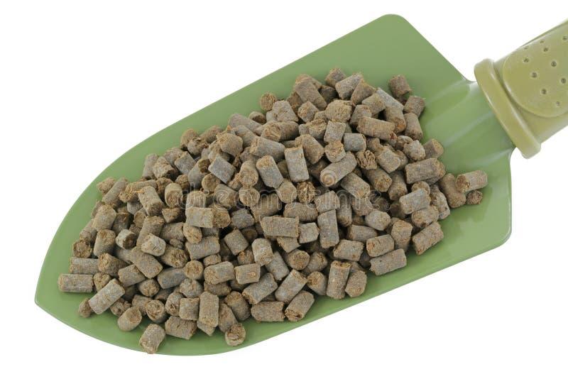 Dierlijk-gebaseerde Meststoffenkorrels stock afbeeldingen