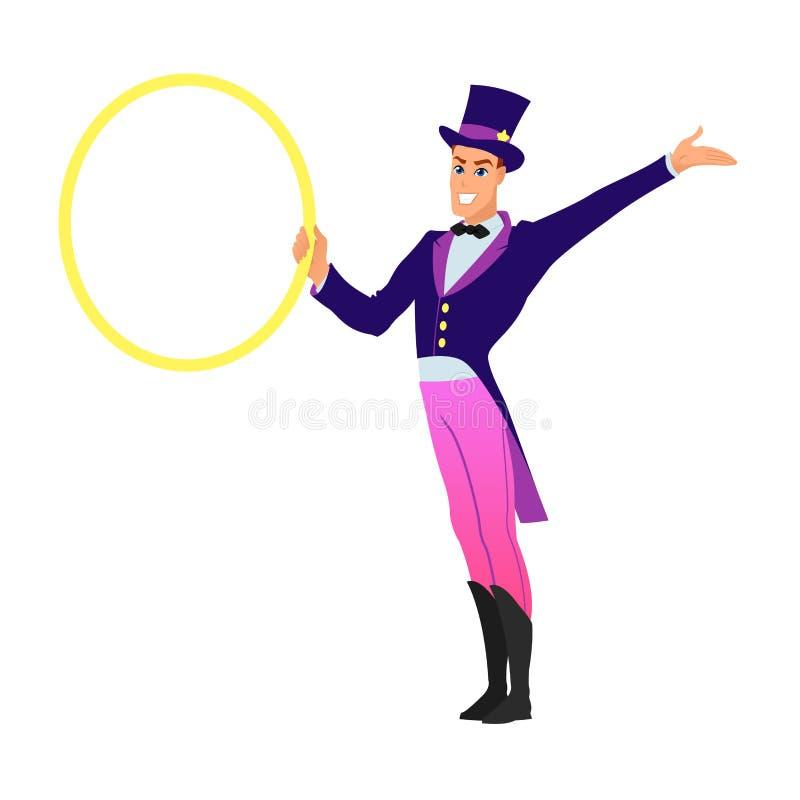 Dierlijk tammer circus vector illustratie