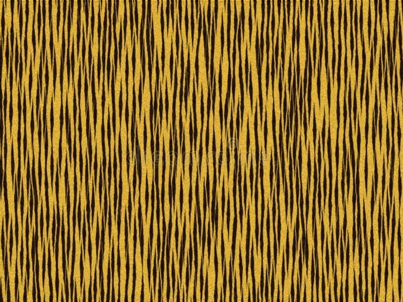 Dierlijke de tijger vette kat van de bonttextuur vector illustratie