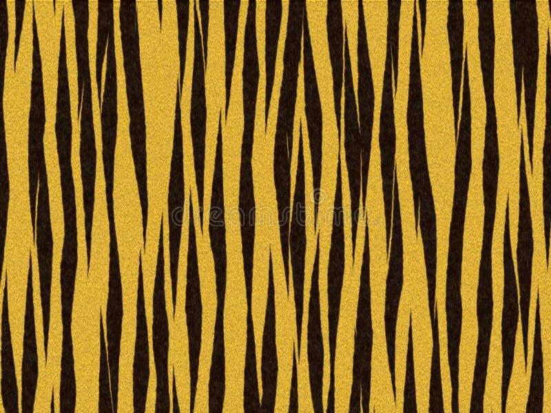 Dierlijke verwarde de tijgersinaasappel van de bonttextuur royalty-vrije illustratie