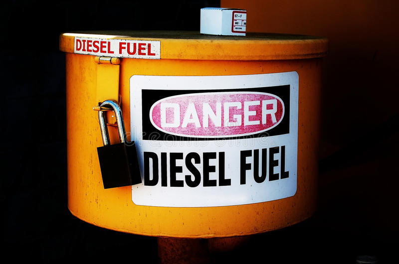 Diesel lizenzfreie stockfotografie
