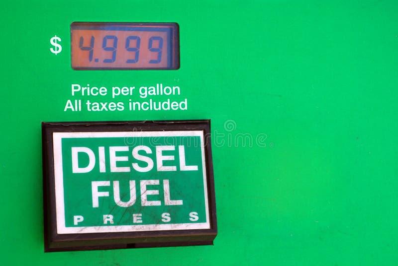 Diesel $5 photographie stock libre de droits
