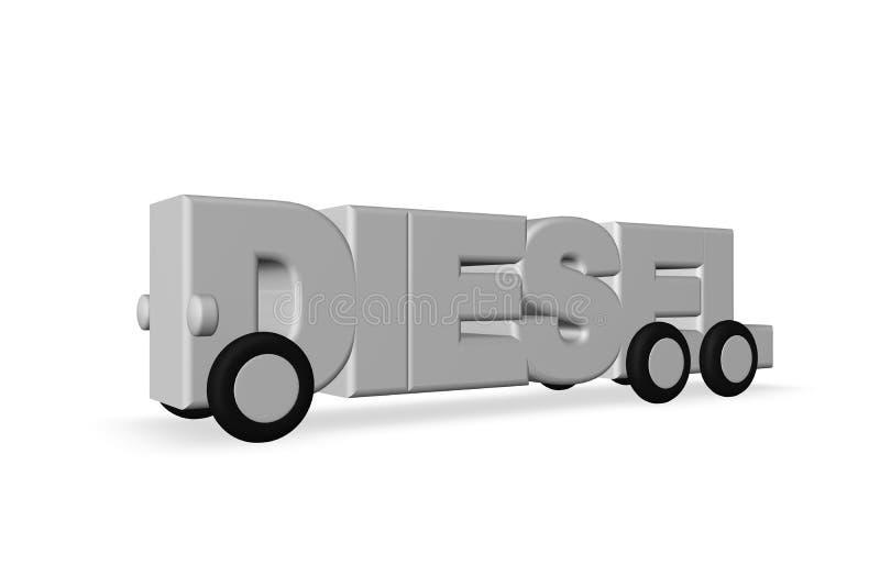 Diesel ilustração do vetor