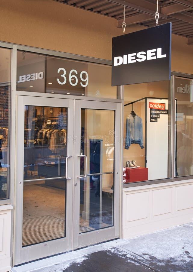 Diesel afzet royalty-vrije stock afbeelding