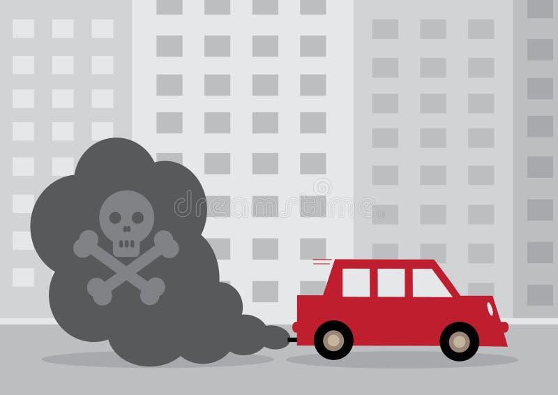 Diesel Auto stock illustratie