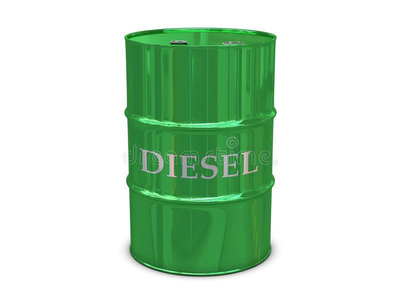 Download Diesel barrel stock illustration. Image of white, refinery - 16052238