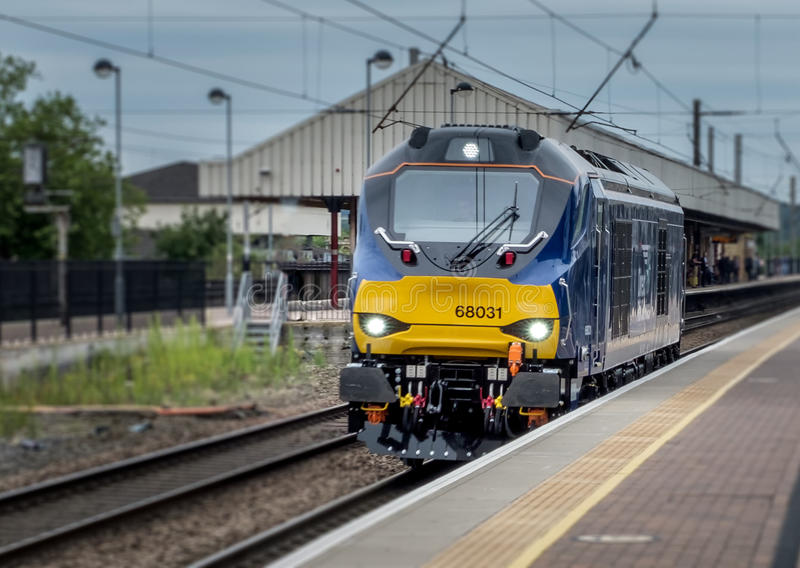 Diesel Electric Trian royalty free stock image