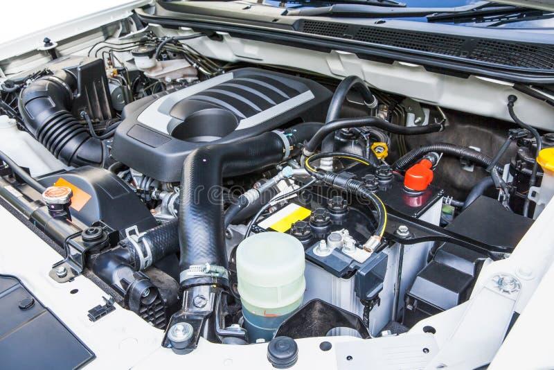Diesel engine stock image
