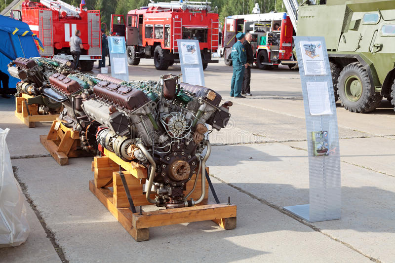 Download Diesel engines editorial stock photo. Image of exhibition - 28582258