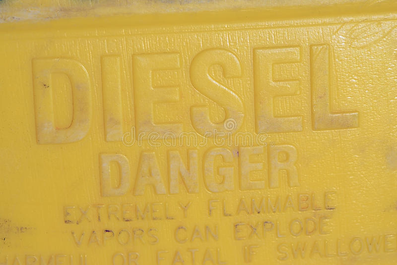 Download Diesel Fuel Container stock image. Image of vapors, fuel - 16579605
