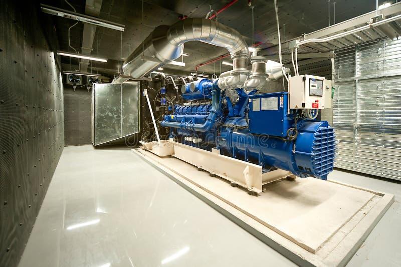 Diesel- generator royaltyfria foton