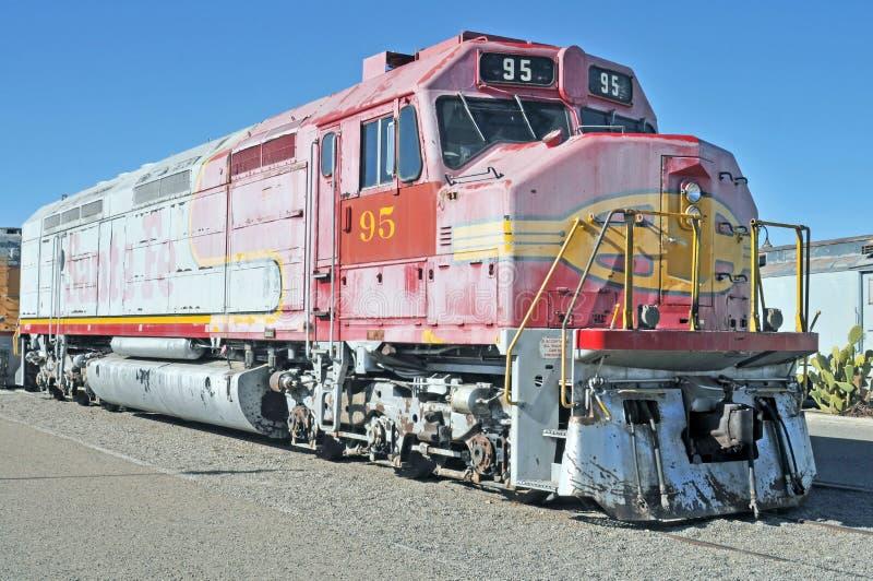 Diesel Locomotief stock foto