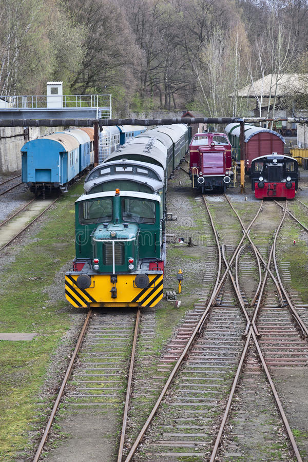 Free Diesel Locomotive Stock Photos - 17952343