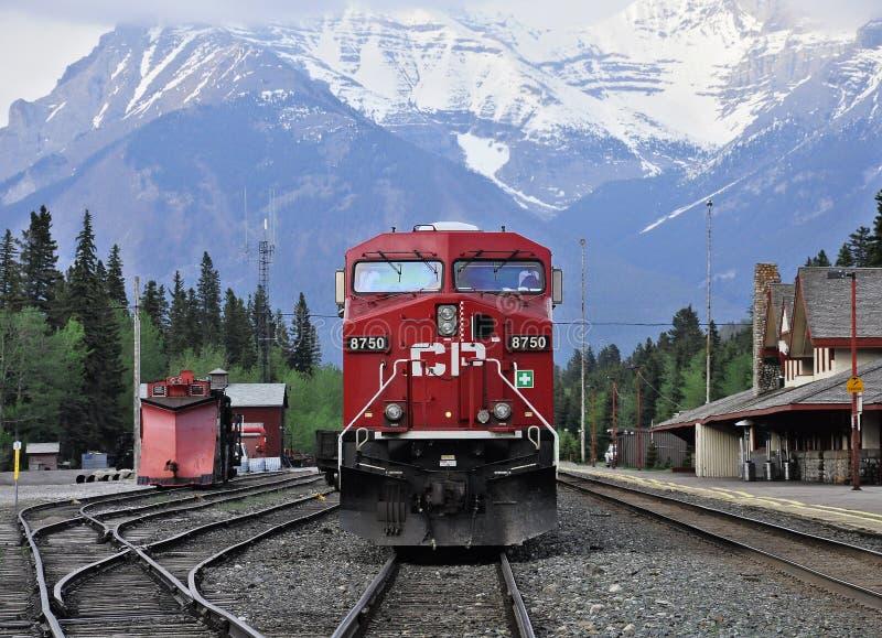 Diesel locomotive. stock image