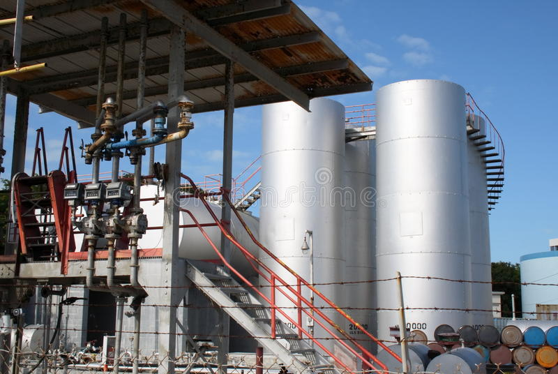 Download Diesel reserve plant stock photo. Image of containers - 17814932