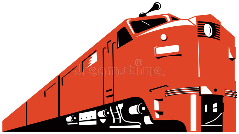 Download Diesel Train stock vector. Illustration of transportation - 5527800