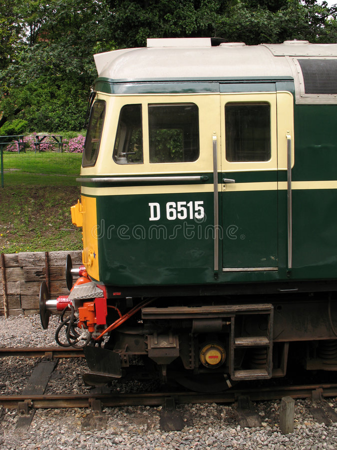 Diesel Train Locomotive Royalty Free Stock Image