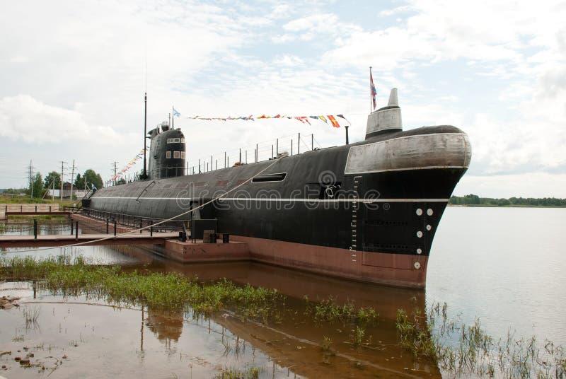 Diesel- ubåt B-440 för stort hav royaltyfri foto