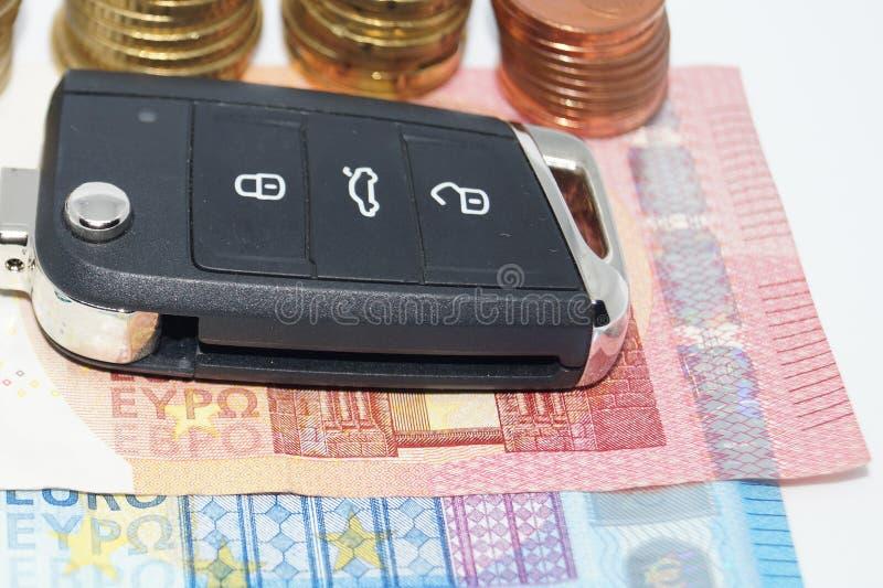 Dieselgate - costi di mantenimento automobilistici immagini stock libere da diritti