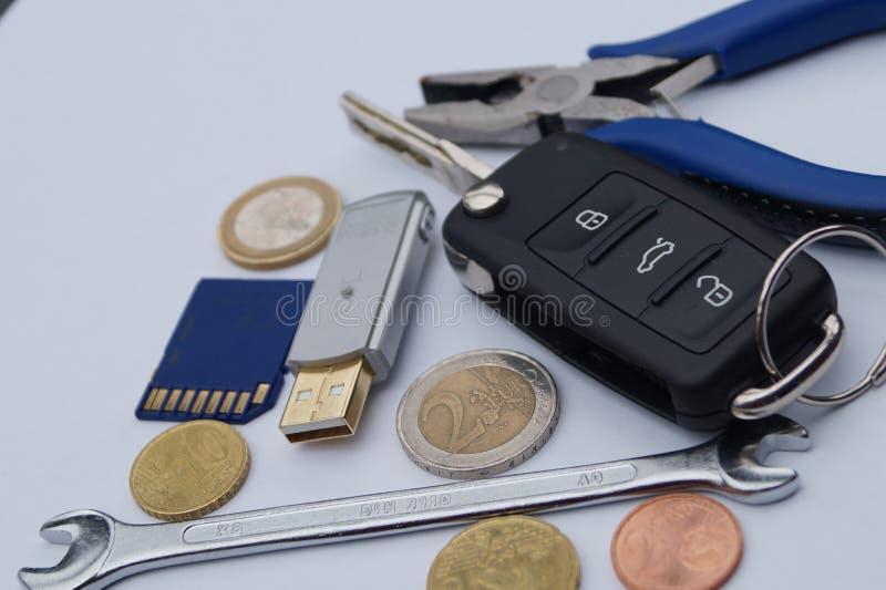 Dieselgate - costi di mantenimento automobilistici immagine stock