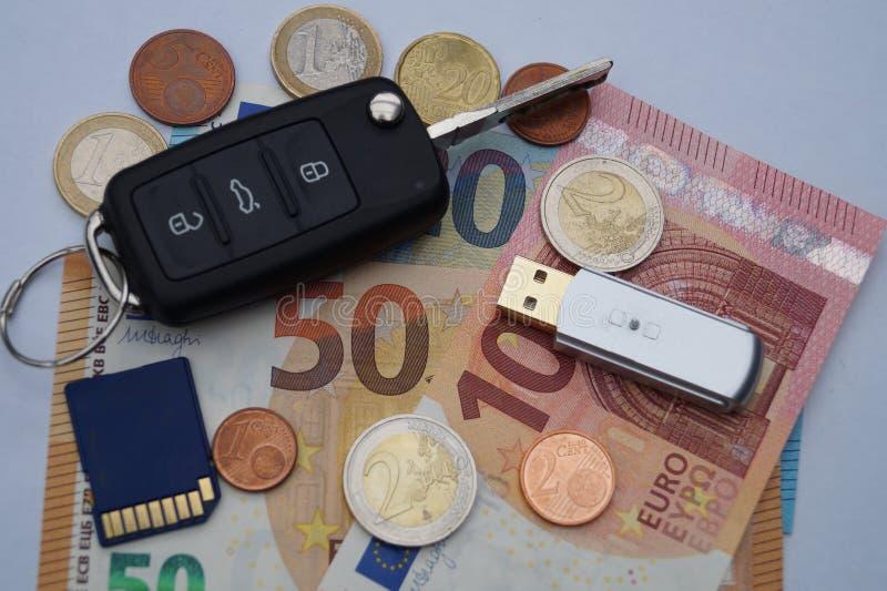 Dieselgate - costi di mantenimento automobilistici fotografie stock