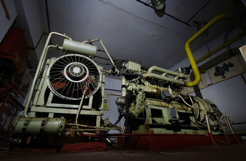 Dieselgenerator stockbilder