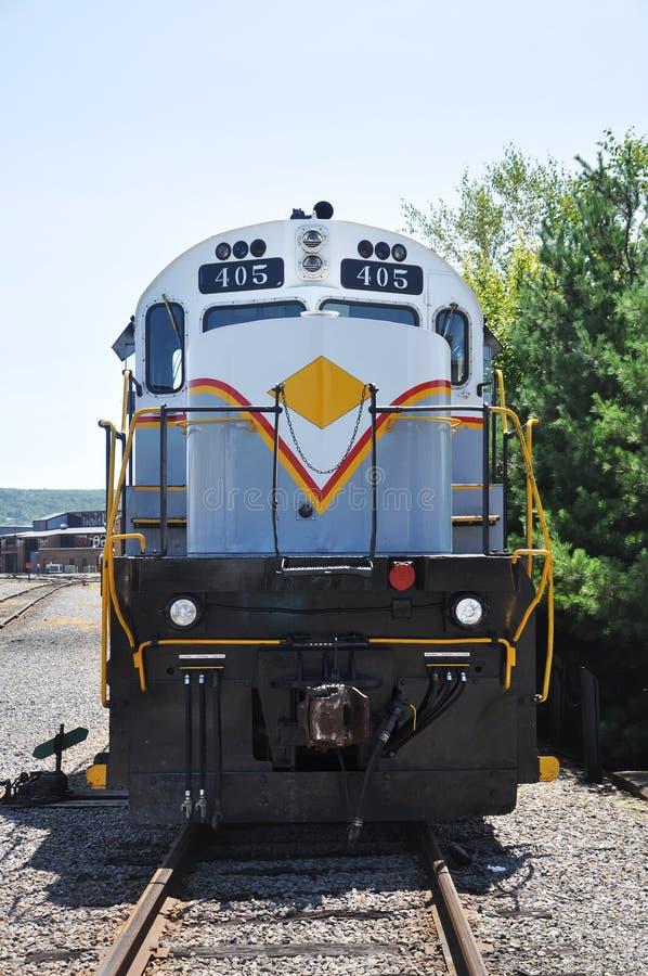 Diesellokomotive stockfotos