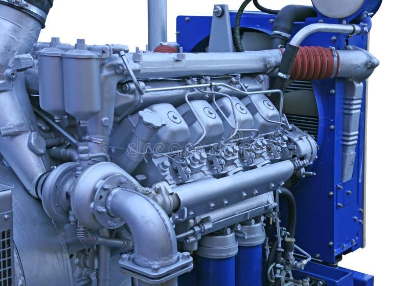 dieselmotor royaltyfri bild