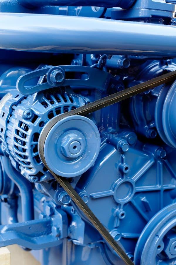 Dieselmotor royalty-vrije stock foto's